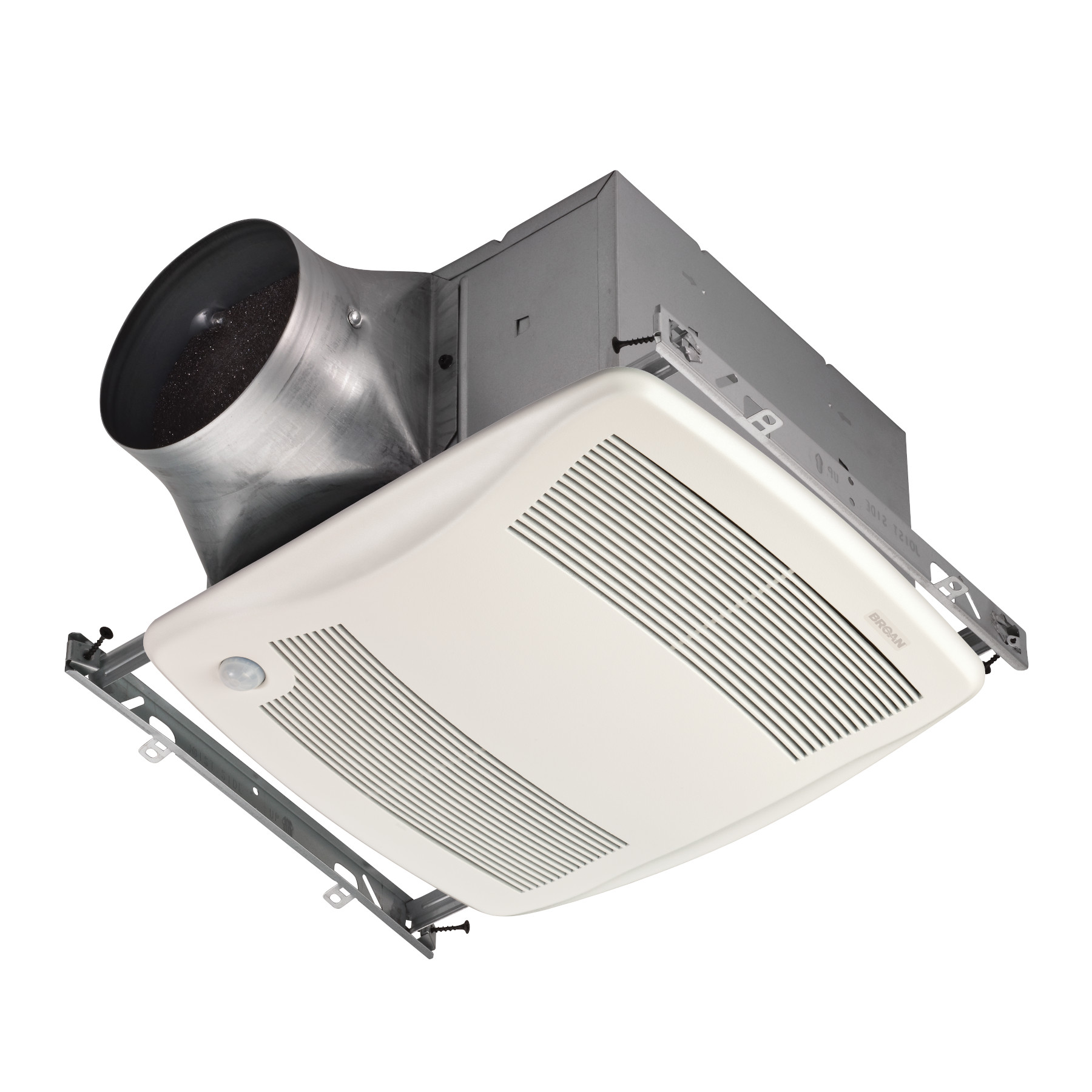 Broan® Ventilateur à détection de mouvement de 80 pi³/min, 0,3 sone