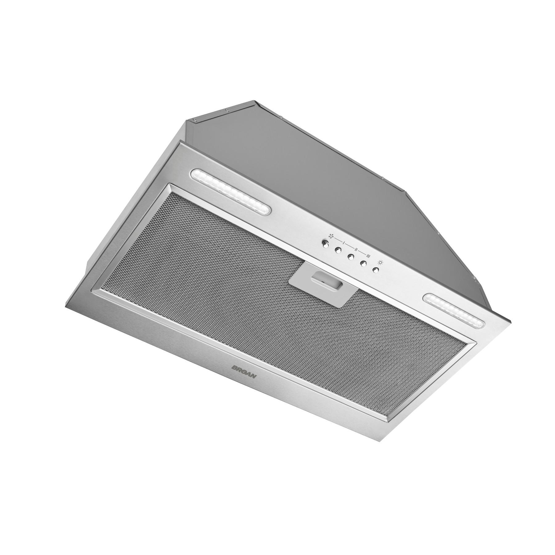Broan® 20.5-Inch Custom Range Hood Power Pack, 440 Max Blower CFM, Stainless Steel