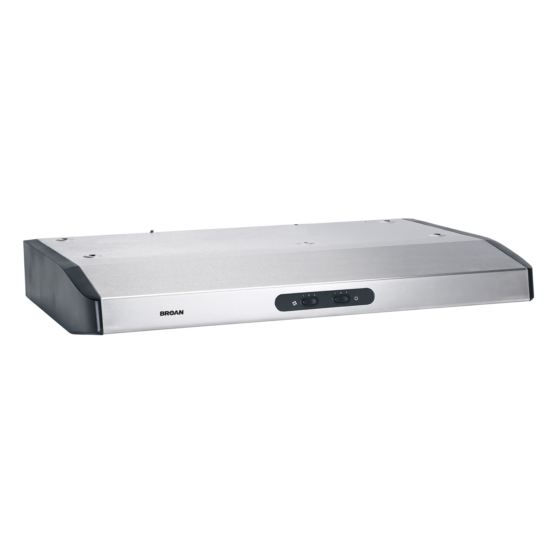 "Broan® 30"" Under-Cabinet Range Hood w/ Light, Stainless Steel"