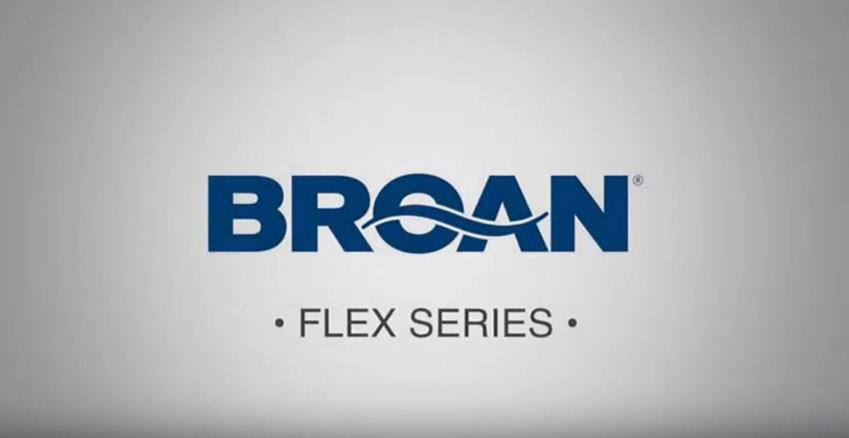 Broan FLEX Series Bathroom Ventilation Fan Installation Video