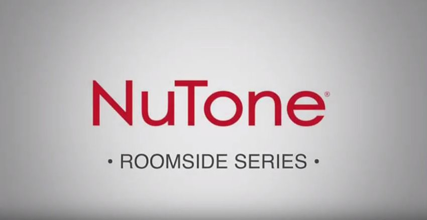 NuTone Roomside Series Bathroom Ventilation Fan Installation Video