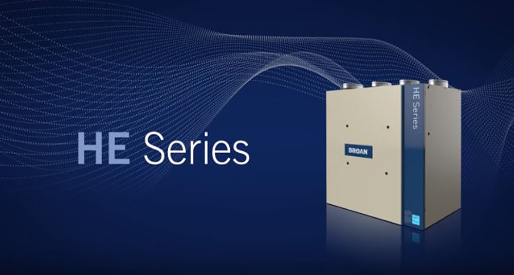 Maximize the HE Series ERV & HRV Ventilators with the HE Series Wall Control