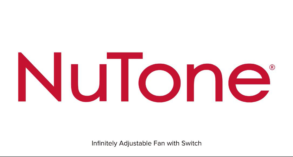 NuTone IAF Infinitely Adjustable Fan with Switch