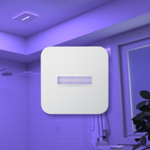 SurfaceShield™ Antibacterial & LED Light Vent Fan