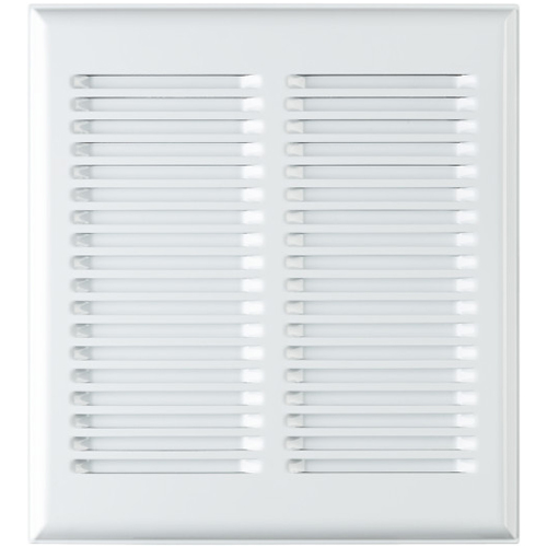 Broan® InVent Series Metal Grille, White