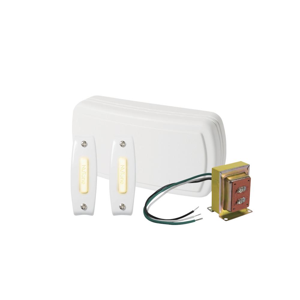 BK125LWH Builder Kit Doorbell